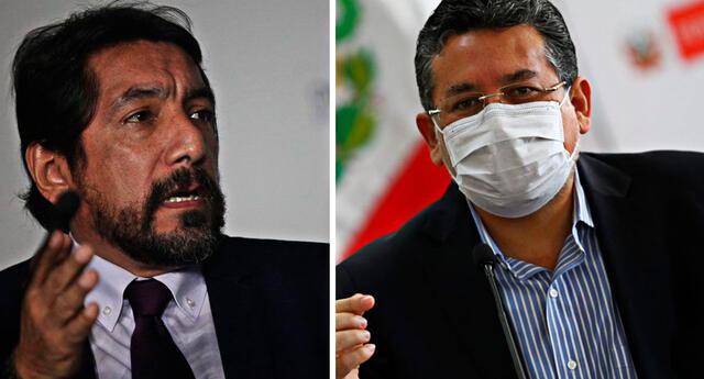 Luis Naldos Blanco se desempeño como asesor del exministro del Interior, Gastón Rodríguez en el Gobierno de Gastón Rodríguez.