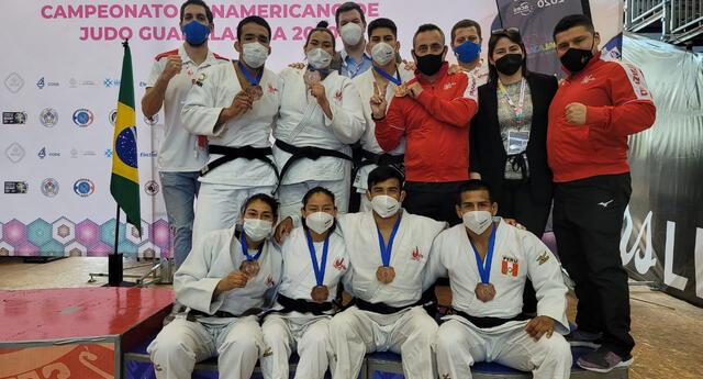 El equipo peruano de judo dio la talla en Guadalajara