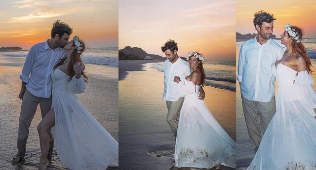Xoana González comparte tiernas instantáneas de su matrimonio con Javier González
