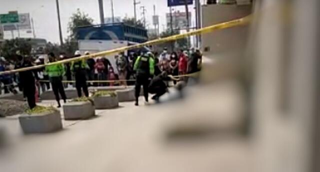 Sicarios matan a hombre en Los Olivos.
