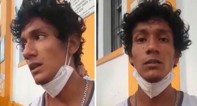 La Policía presentó un informe donde se ven imágenes de Luis Araujo con un amigo el día de la marcha horas antes de su captura.