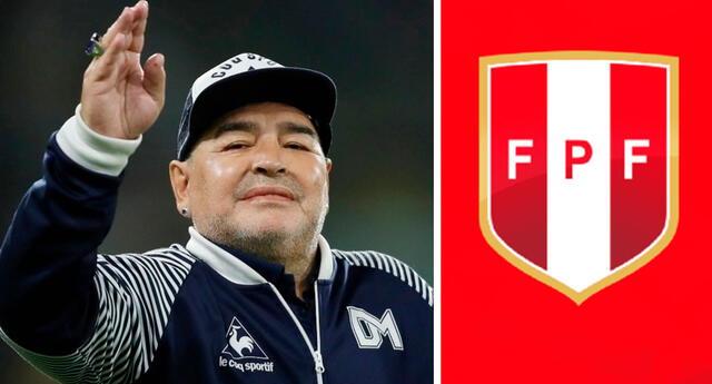 FPF lamenta la muerte de Maradona