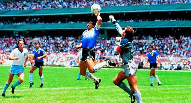 Diego Maradona anotó el gol denominado