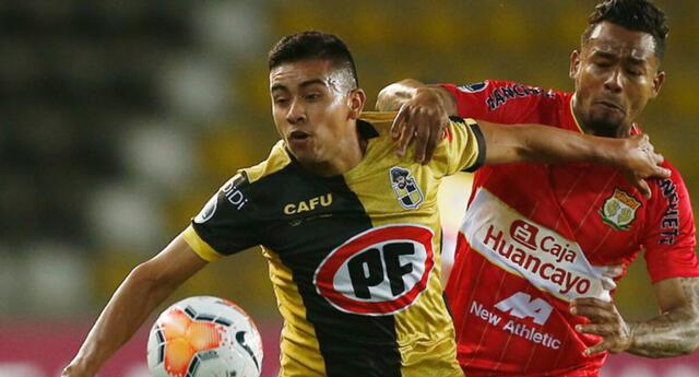 Huancayo sigue invicto en la Copa Sudamericana.