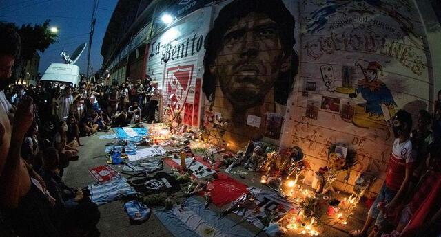 Argentinos Juniors guardará  todos los recuerdos al Diego.