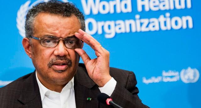 El director general de la OMS, Tedros Adhanom Ghebreyesus aseguró que el rápido desarrollo de varias vacunas permite tener una luz de esperanza.
