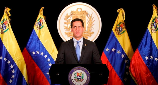 Guaidó advirtió que la situación seguirá siendo insostenible mientras Maduro continúe en la cabeza del Gobierno de Venezuela.