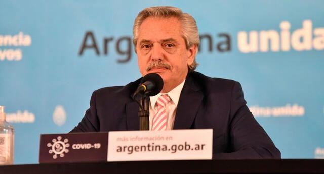 El presidente Alberto Fernández aseguró que será el primer argentino en aplicarse la vacuna rusa.