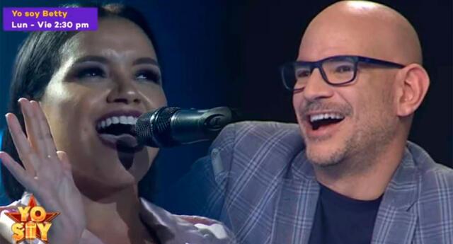 Shantall sorprende con imitación de Rihanna.