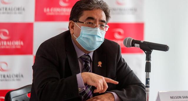 El titular de la Contraloría señaló que han pedido al Ejecutivo un reporte sobre cómo va el tema de las negociaciones con los laboratorios para la compra de vacunas contra el nuevo coronavirus.