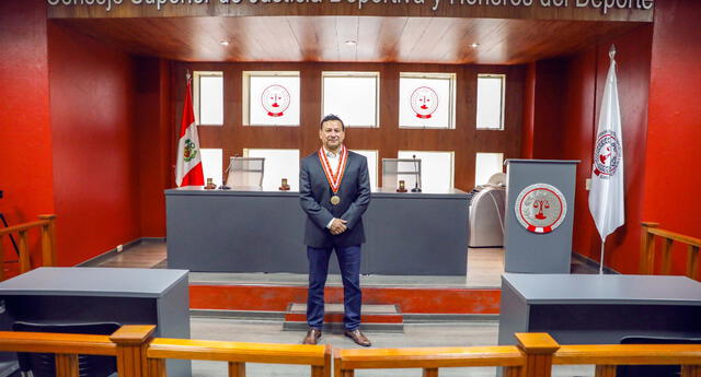 José Mario Escudero Vigil es el nuevo presidente del Consejo Superior de Justicia Deportiva