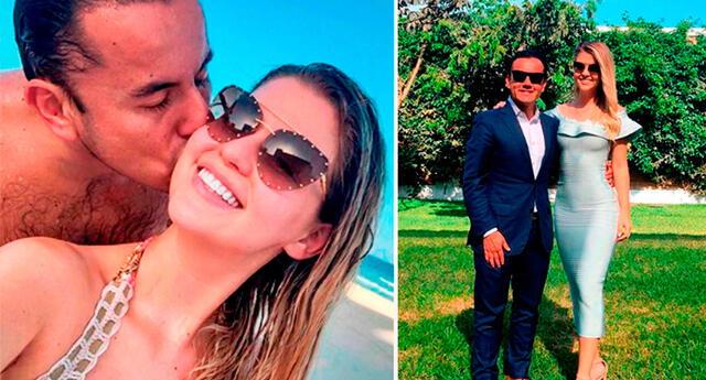 Brunella Horna compartió tierna fotografía de Richard Acuña en Instagram.