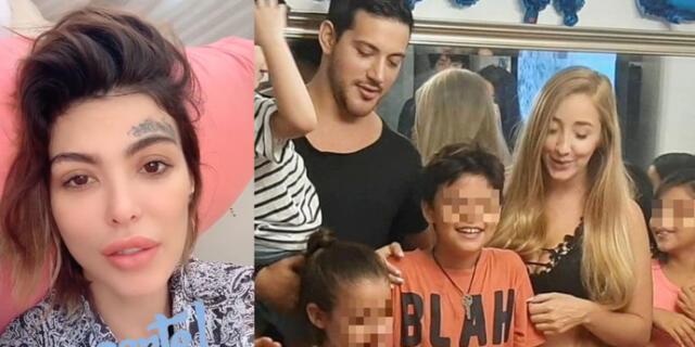 Angie Jibaja compartió en redes sociales cómo se siente después que sus hijos pasaran las fiestas junto a Jean Paul Santa María y Romina Gachoy.