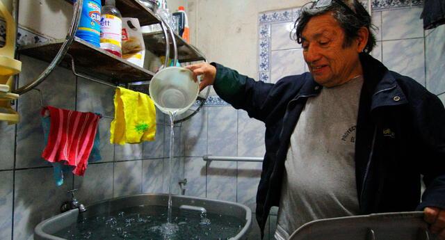 Sedapal anunció el corte de agua en Ventanilla y SJL para el 13 de enero