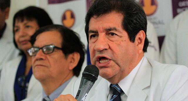 Miguel Palacios Celi, decano del Colegio Médico del Perú (CMP), se pronunció tras conferencia de Sagasti.
