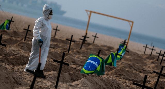 Brasil es uno de los epicentros globales de la pandemia del coronavirus.