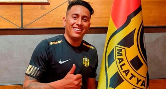 Christian Cueva ampliaría su contrato hasta el 2023.