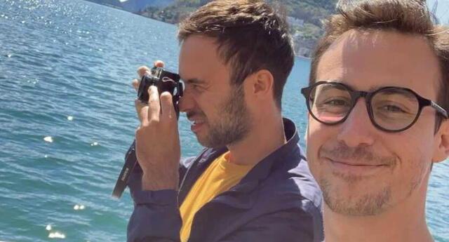 Bruno Ascenzo celebró el cumpleaños de Adrián Bello con un romántico mensaje en Instagram, y algunas fotografías juntos.