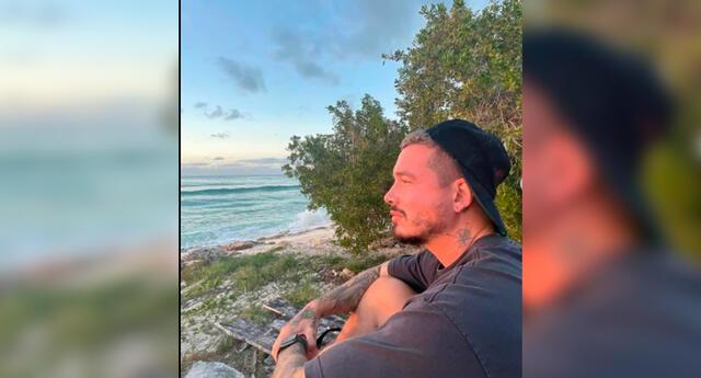 J Balvin compartió un video en su cuenta de Instagram, donde se muestra animado y feliz.
