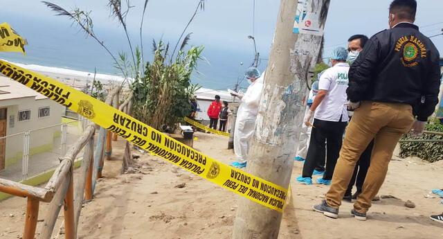 La investigación del caso se encuentra a cargo de la comisaría de la urbanización Pachacamac.