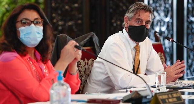 Presidente Francisco Sagasti anuncia nuevas medidas y acciones frente a la pandemia del coronavirus.