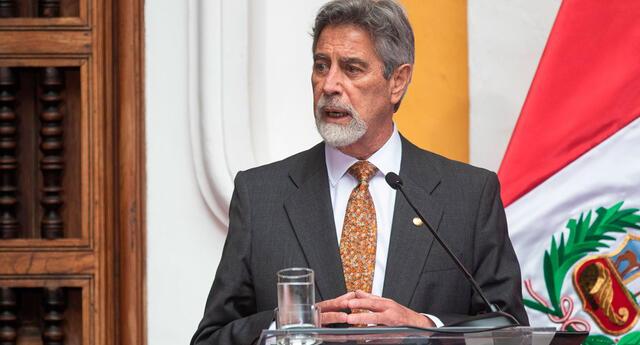 Francisco Sagasti anuncia las nuevas medidas de restricción para combatir al coronavirus en Perú.
