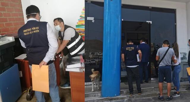 Fiscalía Anticorrupción de Lima Sur intervino la municipalidad de Pucusana por irregularidades en obras de construcción
