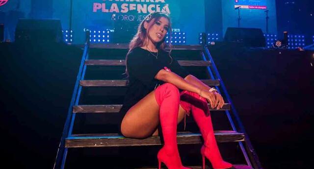 Yahaira Plasencia estaría preparando un nuevo tema.