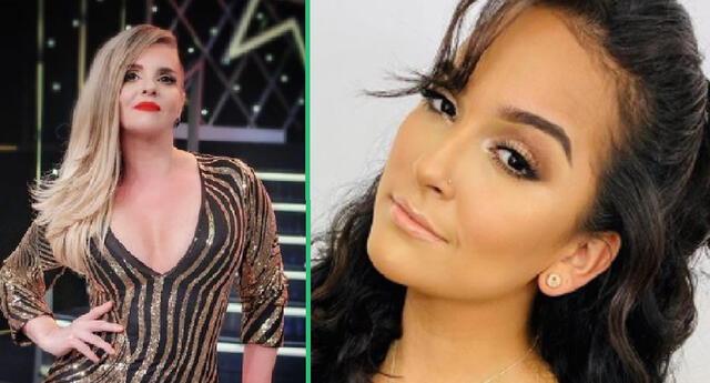 Johanna San Miguel halaga el talento de Daniela Darcourt.