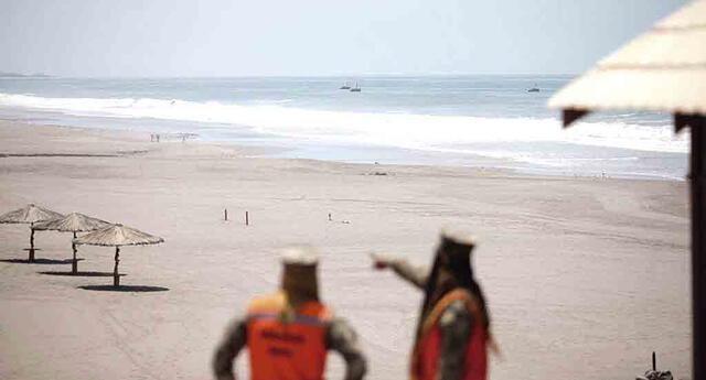 El cierre de playas se mantendrá hasta el 31 de enero de 2021.