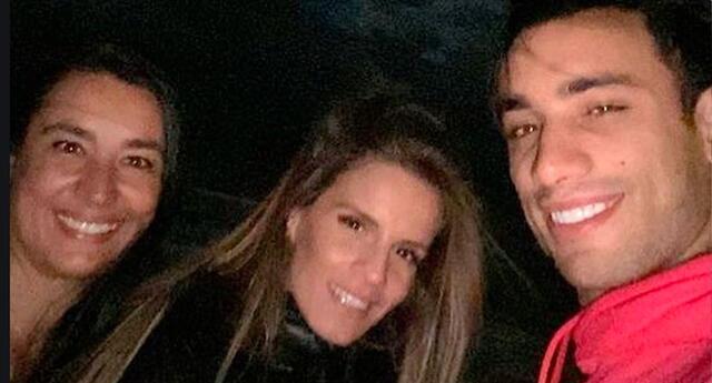 Alejandra Baigorria muestra la gran relación que tiene con la mamá de Said Palao