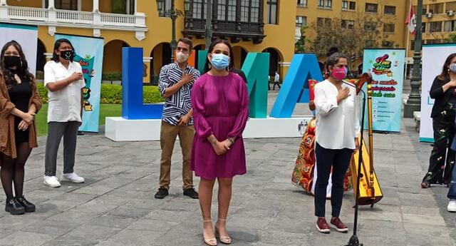 Daniela Darcourt se hará presente en la serenata a Lima de manera virtual.