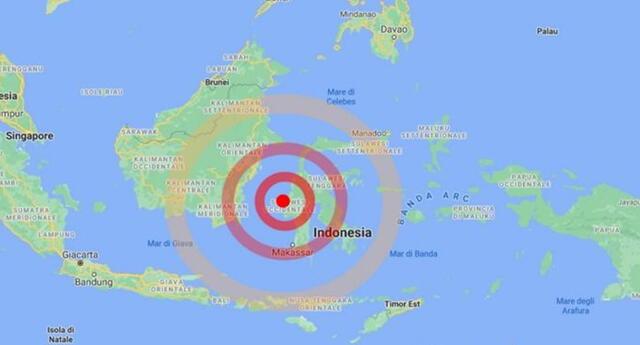 Autoridades de Indonesia también confirmaron el derrumbe de un hotel   Foto: difusión