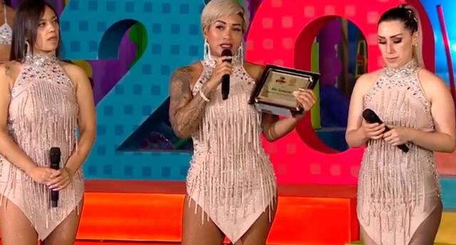 Son Tentación recibió un gran reconocimiento por parte de América Televisión.