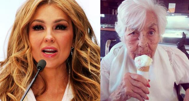 """Thalía hace denuncia tras ver el estado de salud de su abuela: """"Pido oración por ella"""""""