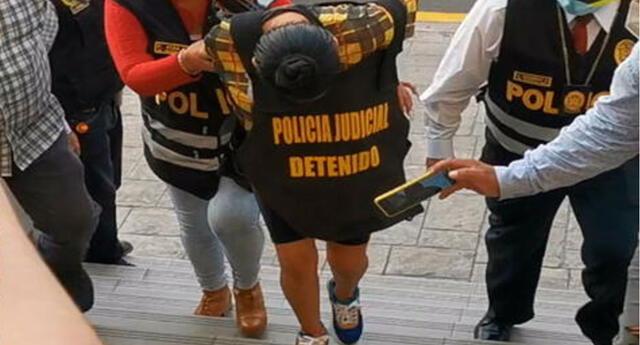 Fiscal pide ampliar la prisión preventiva para banda de secuestradores