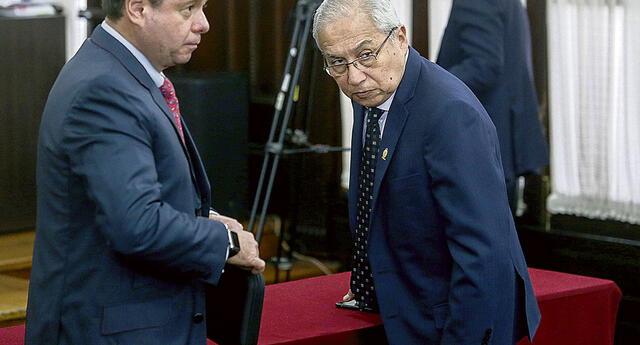 Defensa legal de Pedro Chávarry presentó recurso de apelación ante suspensión de 18 meses.