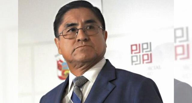 César Hinostroza fue acusado por organización criminal