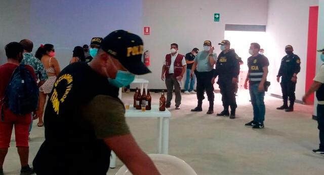 los agentes lograron encontrar a un sujeto identificado como Yulino Huaratazo Alejo (30), quien contaba con una requisitoria vigente por no pagar pensión de alimentos.