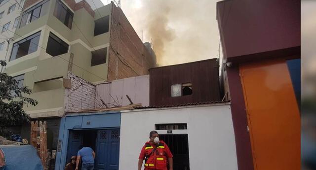 El incendio no reportó heridos de gravedad.