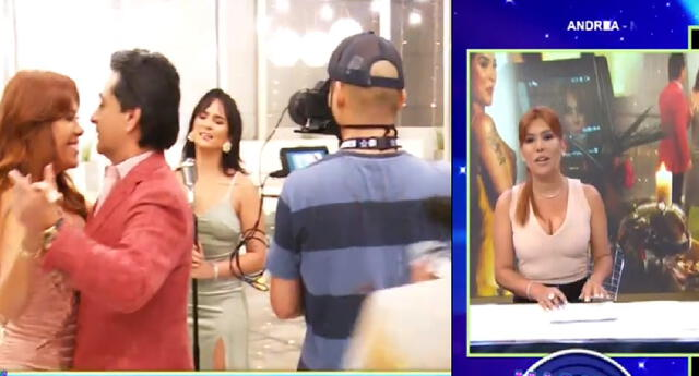 Magaly Medina, Alfredo Zambrano y Daniela Darcourt en videoclip debut.