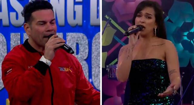 Daniela Darcourt y 'Tomate' Barraza cantaron tema de criollo.