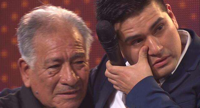 Deyvis Orosco lamenta el fallecimiento de su abuelo.