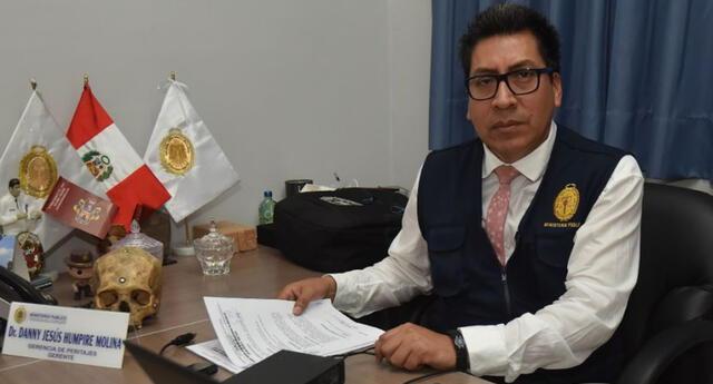 La Fiscalía de la Nación separó de su cargo al perito Danny Humpire del Instituto de Medicina Legal del Ministerio Público