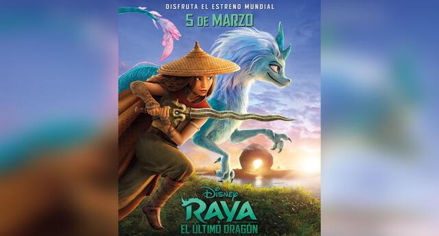 Raya y El último Dragón, se estrenará el 05 de Marzo