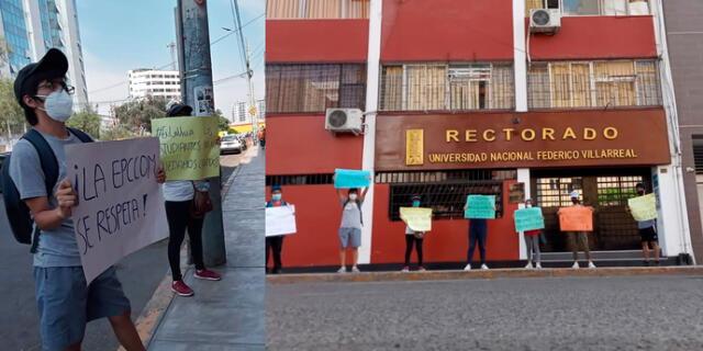 Estudiantes de la UNFV denuncian que no tienen profesores