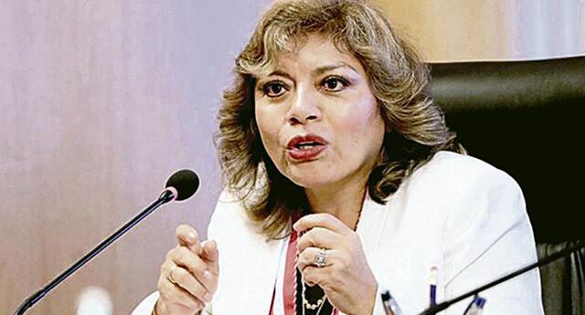 La fiscal de la Nación invocó al gobierno a que el personal del Ministerio Público se considere en el primer grupo de vacunación por la exposición constante que tienen frente al coronavirus.