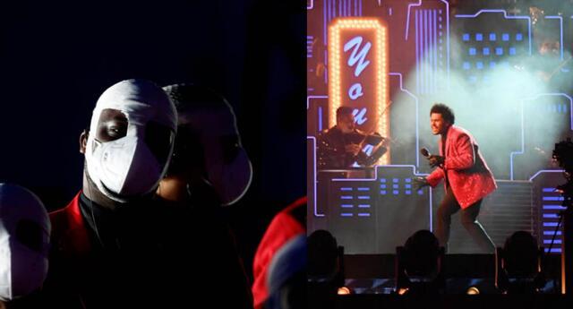 Super Bowl 2021: Así fue la espectacular presentación de The Weeknd al medio tiempo