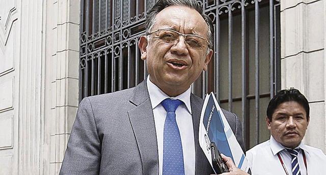 Edgar Alarcón mencionó que no le intimida la acusación del presunto delito de enriquecimiento ilícito en su contra.