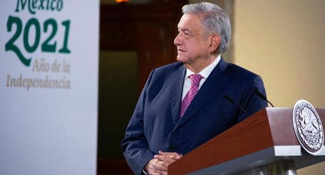 El presidente Andrés Manuel López Obrador reapareció en conferencia de prensa   Foto: Presidencia México
